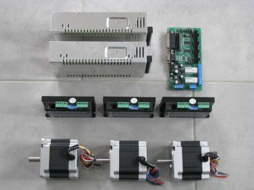 14,9Nm 3 Achsen Schrittmotor Set Parallel Port