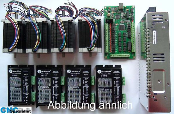 9,0 Nm 3 Achsen Closed Loop CNC Set